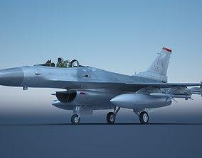 F-16 Fighter F16 Fighting Falcon 3D model