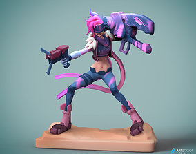 3D print model Jinx League of Legends