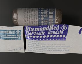 Medical Bandages 3D asset