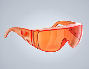 Laser Safety Glasses 3D model
