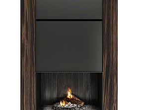 Fireplace 3D model heater