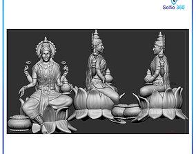 Laxmi Idol 3D Printable model
