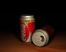 Coca Cola Can 01 3D model