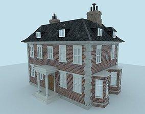 3D model Old British House