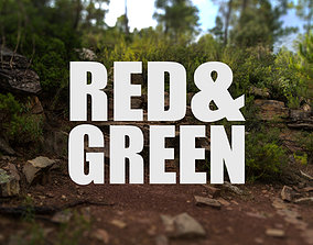 3D Red and Green