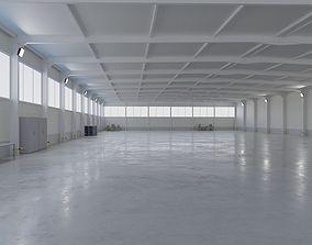 Warehouse Interior 5 3D asset game-ready