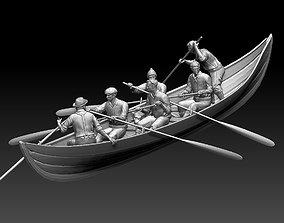 3D printable model fishermen