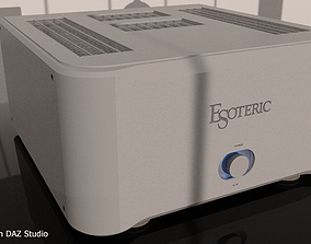 High-end Power Amplifier Esoteric S-02 3D