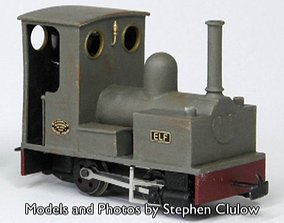 009 Bagnall 0-4-0 for Minitrains 3D print model