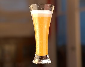 3D Beer glass V1