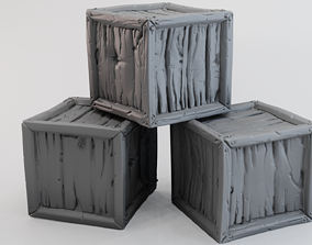 3D printable model Crate A
