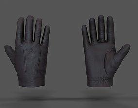 3D asset VR Hands - Leather Glove