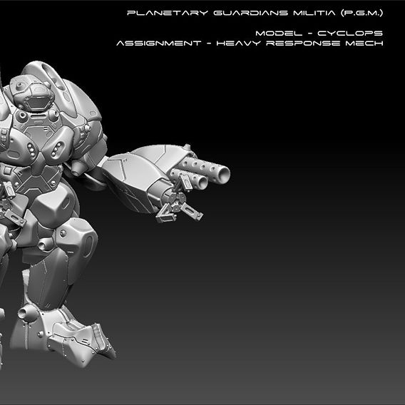 PGM Cyclops Heavy Mech Free Sample