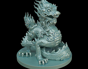 3D print model Imperial dragon