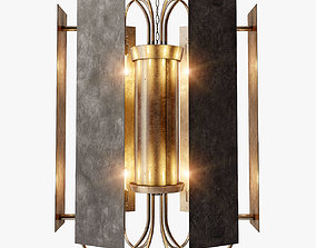 Dering Hall Torino Chandelier 3D model