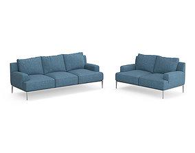 B B Italia Jean sofas 3D model
