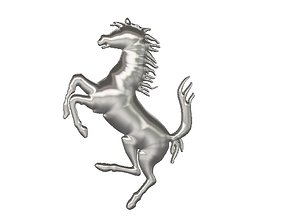 3D printable model Ferrari horse logo