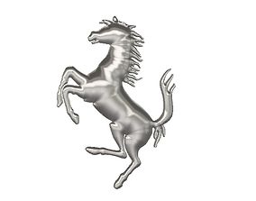 3D printable model Ferrari horse logo