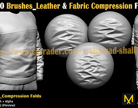 3D model 40 Brushes-Leather and Fabric Compression Folds