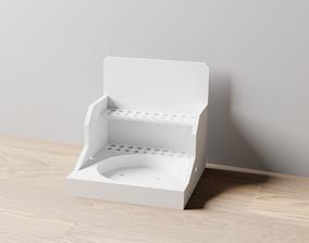 3D printable model 011MT LA Unit Medium Water Pot Holder 2