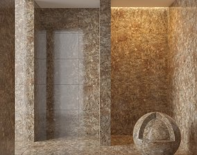 3D Marble wall 224