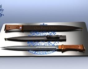 Ceremonial Dutch Dagger 3D printable model