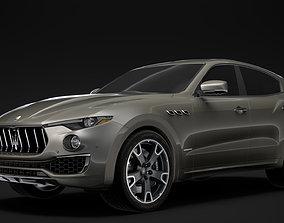 3D Maserati Levante S Q4 GranLusso 2020