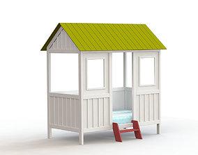 Little house baby 3D