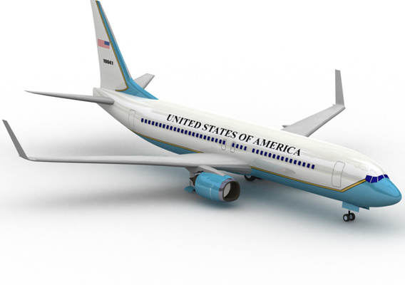 Air Force One 737