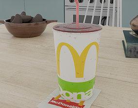 3D model McDonalds Photorealistic PBR Cup