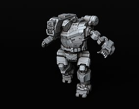 BATTLETECH Hunchback HBK-4P 3D printable model