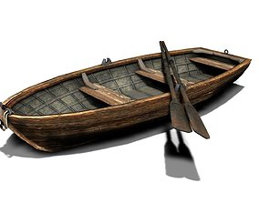 Boat and blade 3D