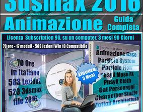 animated Corso 3ds max 2016 Animazione Guida Completa 3