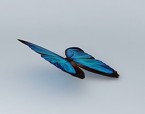 3D The Blue Mortho Butterfly {94Kb}