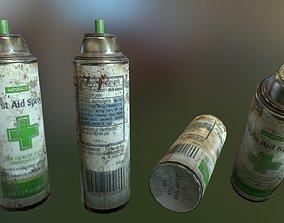 3D asset PBR First Aid Spray