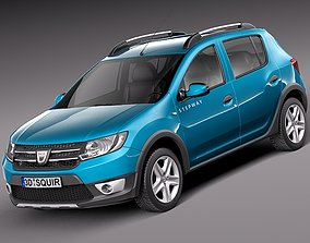 Dacia Sandero 2013 Stepway 3D model