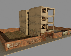 Old Building 3D model game-ready