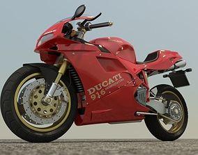 Ducati 916 Iray 3ds max iray