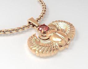 Jewelry Scarab 3D printable model