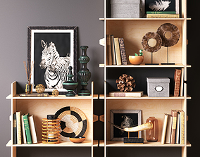 decor 3D Bookcase set AFRICA IKEA