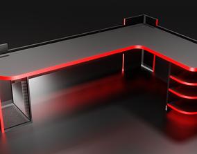 3D asset Gaming Desk