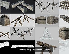 3D model Normandy D-Day Collection PBR