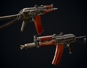 AKS74U 3D asset realtime