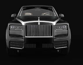 Rolls Royce Cullinan Mansory LoPoly 3D asset