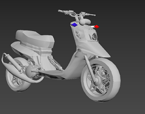 spitro RX police cop scooter 3D print model