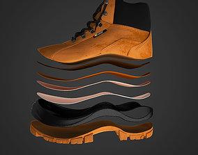3D model High Quality of a Shoe