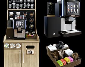 3D model Coffe shop WMF 1500S