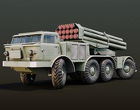 ZiL-135 Russian Heavy Military Truck 3D asset