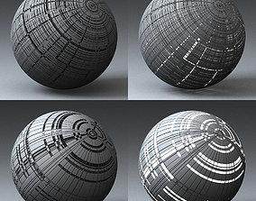 3D model Syfy Displacement Shader H 001 b