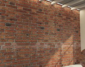 Brick wall Old brick 59 3D model